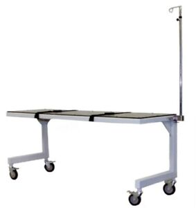 Fca 1000 Mobile X ray C arm Imaging Table With 1 Thick Radiolucent Table Pad