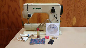 Bernina 532 Record Sewing Machine Heavy Duty Leather Upholstery Serviced