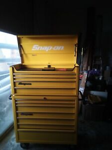 Snap On Tool Box Snapon Kra Heritage Chest Roller Combo Bonus Tool Can Ship