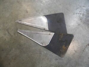 Set Of 2 Vintage Splash Guards Mud Flaps From Chevrolet Corvair