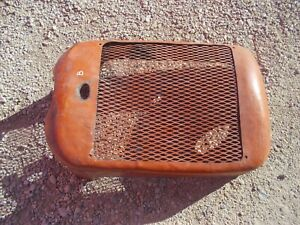 Allis Chalmers B Tractor Original Factory Ac Front Nose Cone Grill W Screen k