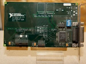 National Instruments At gpib tnt Interface Card 181830 01 Ieee 488 2 Isa B64