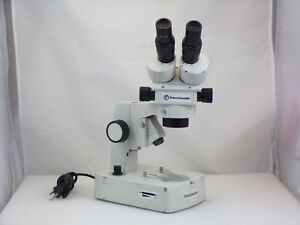 Fisher 12 562 1 Stereomaster Illuminated Base Microscope Used 2
