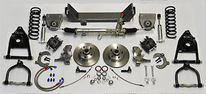 1949 1954 Chevy Mustang 2 Ii Front Ifs Power Rack And Pinion New Fits Bel Air