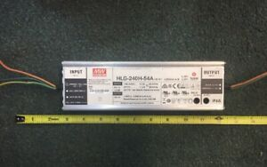 Meanwell Mean Well Hlg 240h 54a 54v 4 45a 240w Led Driver Power Supply Cc Cv
