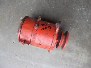 Allis Chalmers Ac G Tractor 6v Generator Belt Drive Pulley Working Ready Use