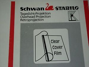 Schwan Stabilo A4 210x297mm Clear Cover Film Overhead Projection 7224 100 Sheets