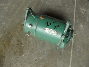 John Deere Tractor 12v Generator Belt Drive Pulley Good Working Ih Ac Oliver