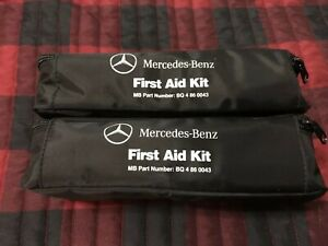 Lot Of 2 Mercedes Benz First Aid Kit Part Number Q4 86 0043 Oem Factory