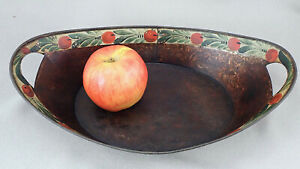 Connecticut Decorated Tinware Tole Bread Tray Early 19th Cent