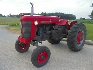 Massey Ferguson 85 Wide Frontend Tractor Runs Good Live 2sp Pto Hydraulics 3pt