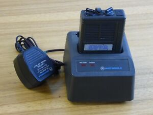 Motorola Minitor Ii Pager Low Band 046 1400 With Nrn 4952a Charging Dock