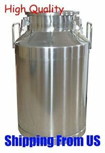 Intbuying Stainless Steel Milk wine beer maple Syrup Pail can bucket With Lid