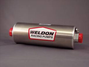 Weldon Racing 1100 A Inline Fuel Pump Hot Rod Off Road Performance Boat Marine