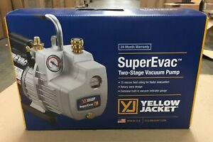 Yellow Jacket supervac 6cfm 115v Vacuum Pump 93560