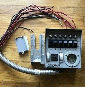 Gentran 6 Circuit Generator Power Transfer Switch