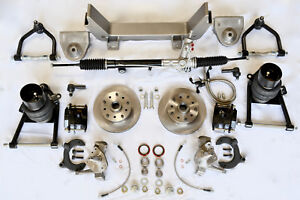 1948 49 50 51 52 Ford 1 2 Ton Truck Mustang Ii Front Ifs Air Ride Kit New