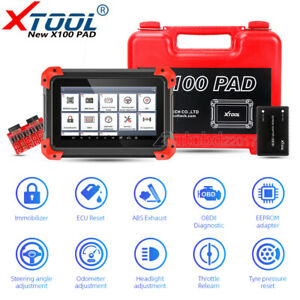 Xtool X100 Pad Auto Obd2 Programmer Odometer Correction Diagnostic Scanner Tool