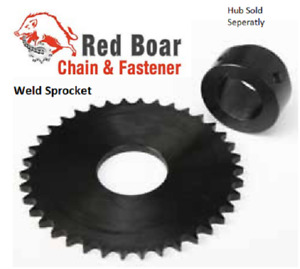 35w48 Weld Sprocket For W Series Weld Hub 48 Tooth 35 Roller Chain