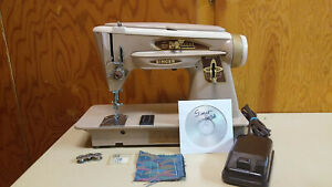Singer 503a Machine Heavy Duty Leather Upholstery Serviced