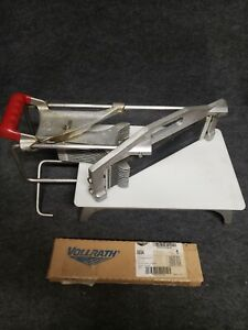 Vollrath D0645n Slicer With New 0654 Tomato Pro 1 4 Cut Blade Assembly