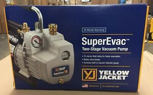 Yellow Jacket supervac 8 Cfm 115v Vacuum Pump 93580