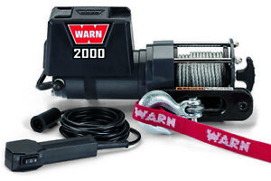 Warn Industries Dc2000 Winch 2000lb W Hawse Fairlead