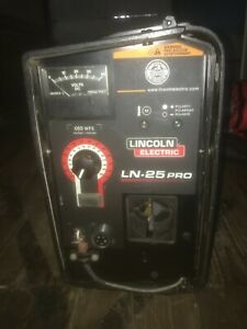 Lincoln Electric Ln 25 Pro Wire Feeder Welder