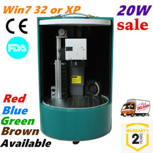 20w Closed Cylinder Mini Laser Fiber Marking Laser Coding Machine Rotary Axis