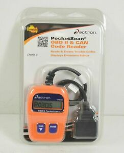 New Actron Cp9125 C Pocketscan Car Code Reader Auto 16 Pin Obd Ii Scanner