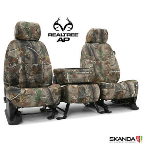 Coverking Realtree Ap Camo Custom Seat Covers For Toyota Tacoma Made To Order