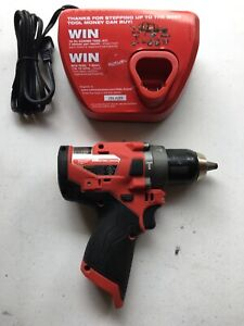 Milwaukee 2504 20 M12 12v Fuel Brushless 1 2 Hammer Drill Tool W charger Only