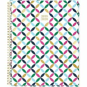 Cambridge 2019 2020 Academic Year Weekly amp Monthly Planner Large 8 1 2 X