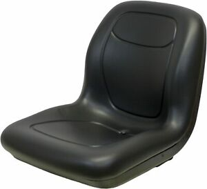 John Deere Black Bucket Seat Fits Gator 4x2hpx 4x4hpx And 4x4trail Hpx Series