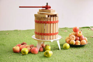 Fruit Wine Cider Press Apple Grapes Crusher Juice Maker Juicer 3 2 Gallon Making