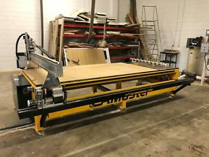 2016 Camaster Cobra Cr 510 Cnc Wood Router W Lathe Vacuum less Than 100 Hours