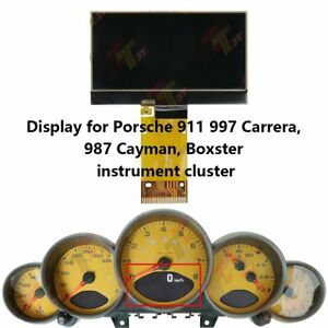 Display For Porsche 911 997 Carrera 987 Cayman Boxster Speedometer Instrument