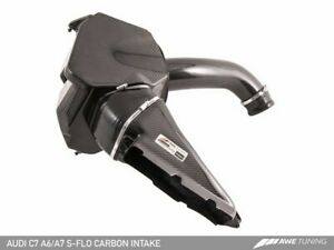 Awe Tuning Audi C7 A6 A7 3 0t S flo Carbon Intake V2