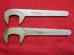 2 Vintage Blue Point Wrenches S 9460 S 9461 Caster Camber Obstruction Tool