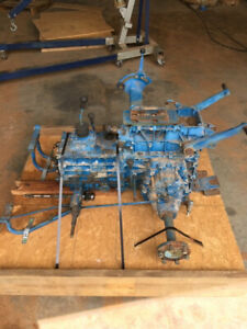 Ford 1200 4wd Tractor Complete Pto And Transmission Assembly 1982