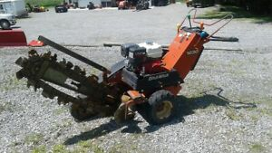 2007 Ditch Witch 1230 Walk Behind Trencher 13hp Honda Engine Runs Great