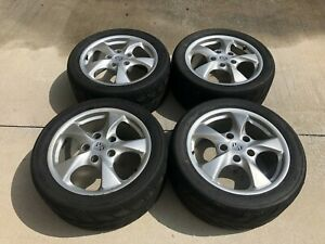 Porsche Boxster 986 Wheels 98636212606 8 5jx17h2 Et48 Set Of 4