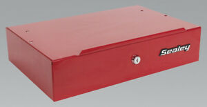 Genuine Sealey Aplht Side Cabinet For Long Handle Tools Red