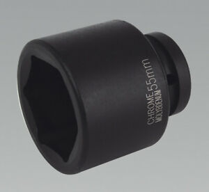 Genuine Sealey Is155 Impact Socket 55mm 1 sq Drive