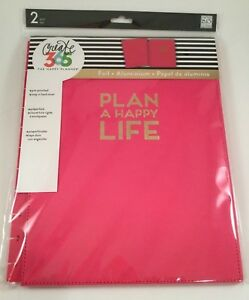 Create 365 The Big Happy Planner Snap in Hard Cover Plan A Happy Life Pink