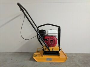 Hoc Hc100 Plate Compactor Plate Tamper 6 5 Hp Gx200 2 Year Warranty