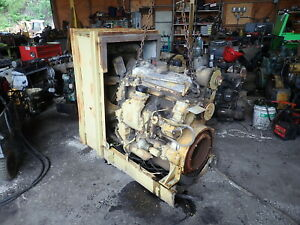Detroit Diesel 4 71 Engine Power Unit Video Runs Exc 471 Gm Sawmill Pump