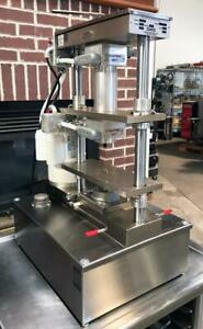 Comtec 2200 Bakery Restaurant Equipment Double Crust Forming Pastry Pie Press