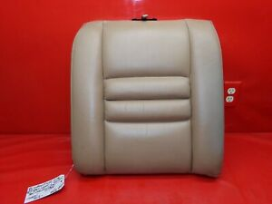 94 98 Mustang Gt Tan Saddle Leather Rear Back Seat Upper Cushion Right Passenger