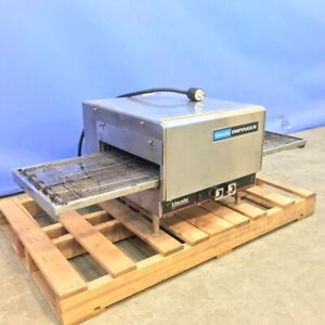 Lincoln Enodis Impinger 1301 Countertop Pizza Oven With 50in Conveyor Belt